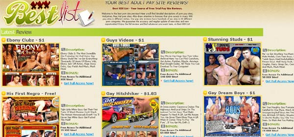 Best XXX List - Review Free Trial XXX Sites and Porn Sites with Bonuses in All Niches, Hot Porn Pay Sites