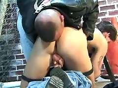 Kinky gay likes to have ass stuffed