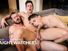 Straight Watchers daddy gay porn