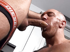 Stag Homme medals with another amazing motion picture of Straight Man Screws Myself this time with a 24 years old brute that cums 3 times!! Once innermost Francesco's mouth, then innermost his ass resulting in a lot of the condom full of dick water suckin daddy gay porn
