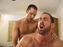 Straight mechanics first try gaysex daddy gay porn