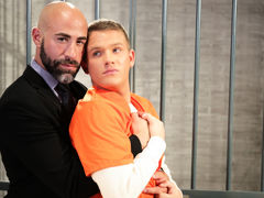 Teen heart throb twink Brandon Wilde gives big, dark, smoldering defense attorney too much attitude. Damon Andros shows Brandon who's boss as this boy kisses the blond boy hard and then has him blow his massive cock. Brandon is eager and able as this boy daddy gay porn