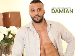 He's cool and he's smooth, but all that goes lacking saying. He's Damian and sexy bodies are his business. But in order to make sure a model will hold up, sometimes he's have to put it to the test! As adult modeling agent Damian finishes a phone daddy gay porn