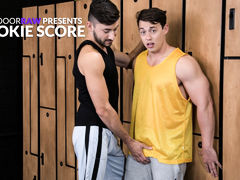 Rookie Score daddy gay porn