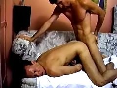 Dudes lick out butts and suck cocks daddy gay porn