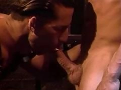 Two bones intrude his tight asshole daddy gay porn