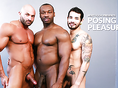Posing for Pleasure daddy gay porn