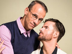 After his wife catches him jerking off to twink porn, Brendan Patrick visits his therapist, Rodney Steele. Brendan is ashamed and afraid his life is over. To help him attain to the root of his troubles, Rodney asks a series of questions. Their discussion daddy gay porn