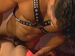 Handsome gay studs having sex party daddy gay porn