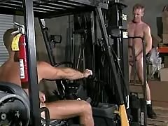 Three dudes fuck each other heavily